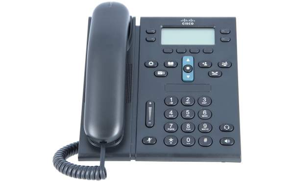 Cisco - CP-6945-CL-K9= - Cisco UC Phone 6945, Charcoal, Slimline Handset