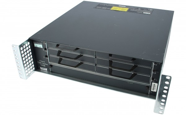 CISCO - CISCO7206VXR= - 7206VXR, 6-slot chassis, 1 AC Supply, Spare (w/o IP  SW)