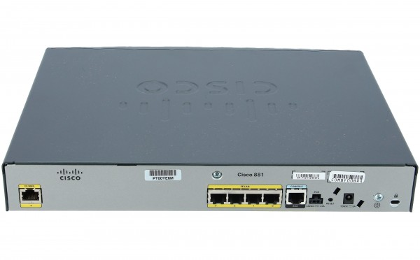 Used CISCO881G-K9 881 Ethernet Security Router with 3G